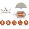 Grand Canyon Cardova 1 Tält grön